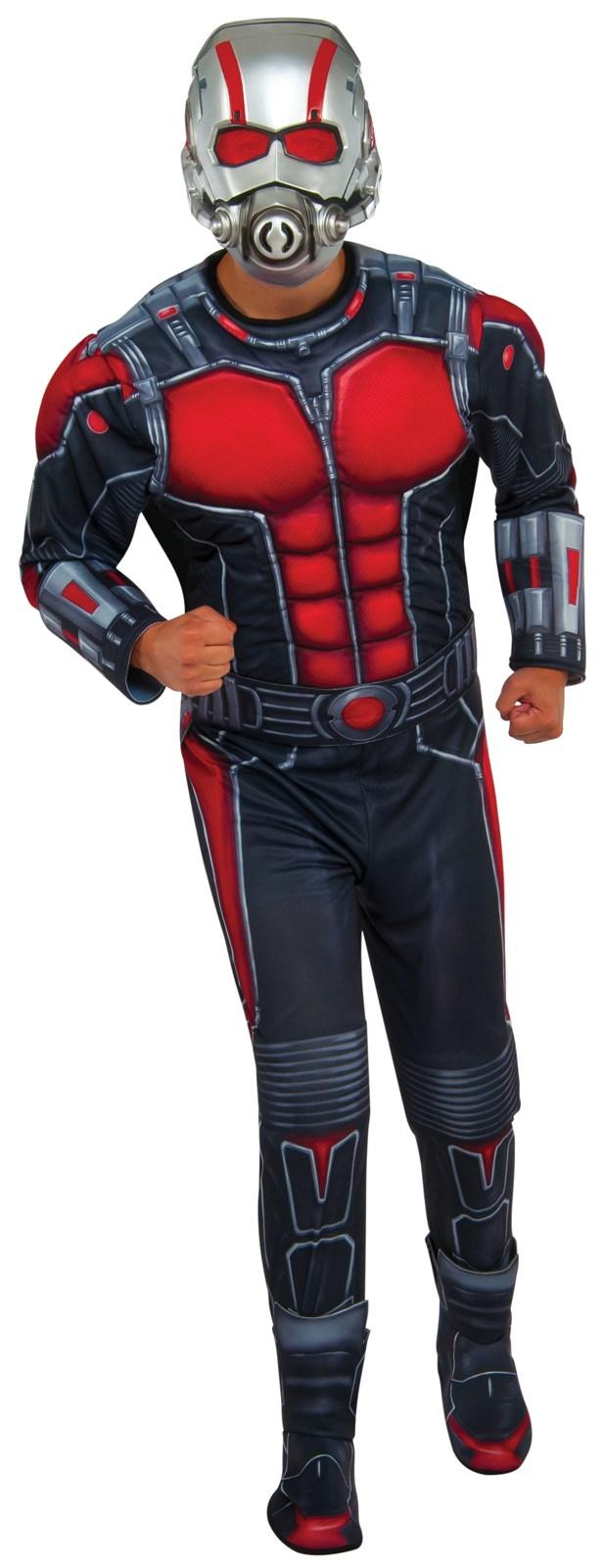 adult ant man deluxe costume - Deluxe Halloween Costume