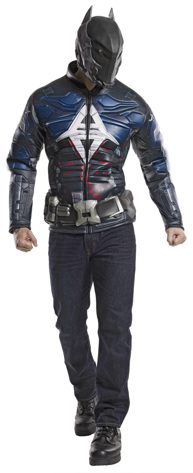 Adult Batman Arkham Knight Muscle Chest Costume | BuyCostumes.com