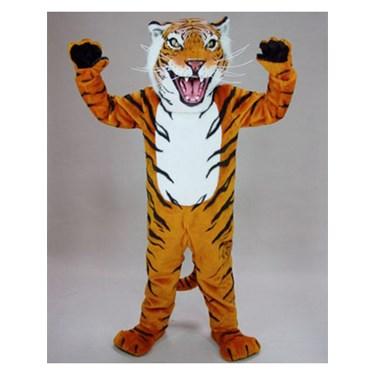 Adult Bengal Tiger Mascot Costume