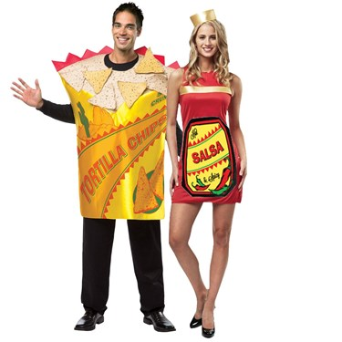 Adult Chips & Salsa Couples Costume