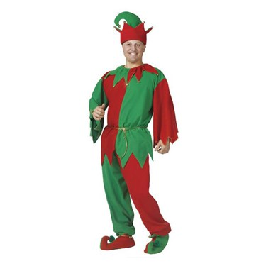 Adult Complete Elf Costume