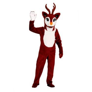 Adult Deluxe Reindeer Mascot Costume