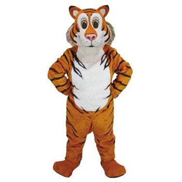 Adult Friendly Tiger Mascot Costume