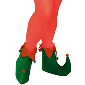 Adult Green Elf Shoes