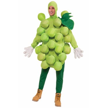 Adult Green Grapes Costume