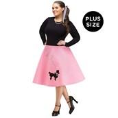 Adult Poodle Skirt Plus Size