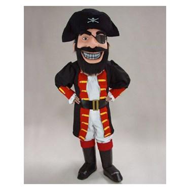 Adult Redbeard Pirate Mascot Costume