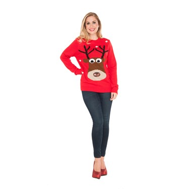 Adult Reindeer Christmas Sweater