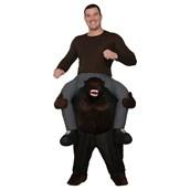 Adult Ride On Gorilla Costume
