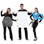Adult Rock, Paper, Scissors Costume