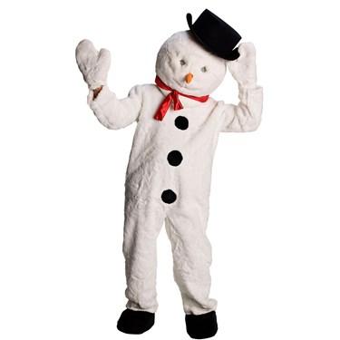 Adult Snowman Mascot