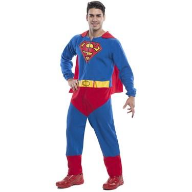 Adult Superman Onesie Costume