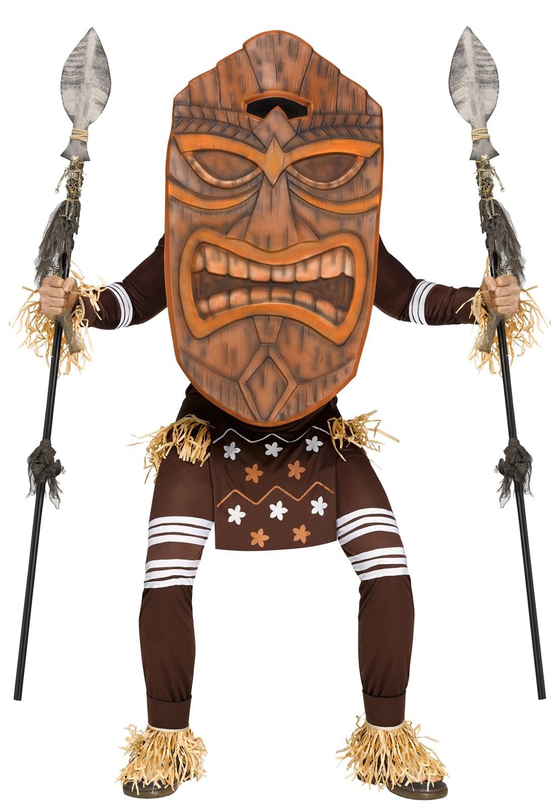 Adult Tiki Warrior Costume Buycostumes Com