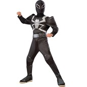 Agent Venom Muscle Chest Deluxe Child Costume