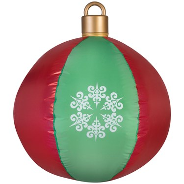 Airblown Hanging Ball Ornament