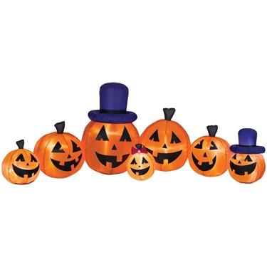 Airblown Pumpkin collection scene
