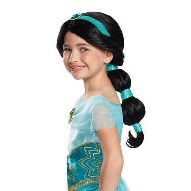 Aladdin Jasmine Child Wig