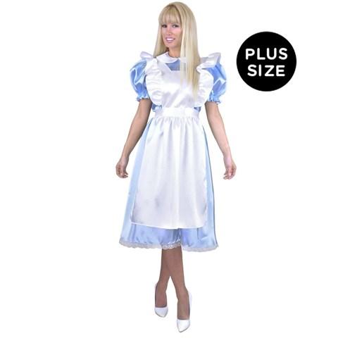 Alice Adult Plus Costume