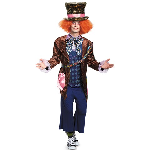 Alice In Wonderland Movie - Deluxe Mad Hatter Adult Costume