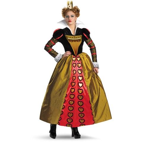 Alice In Wonderland Movie Deluxe Red Queen Adult Costume