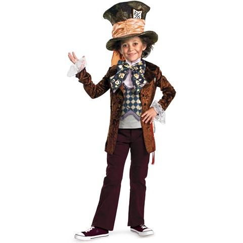 Alice in Wonderland Movie - Mad Hatter Child Costume