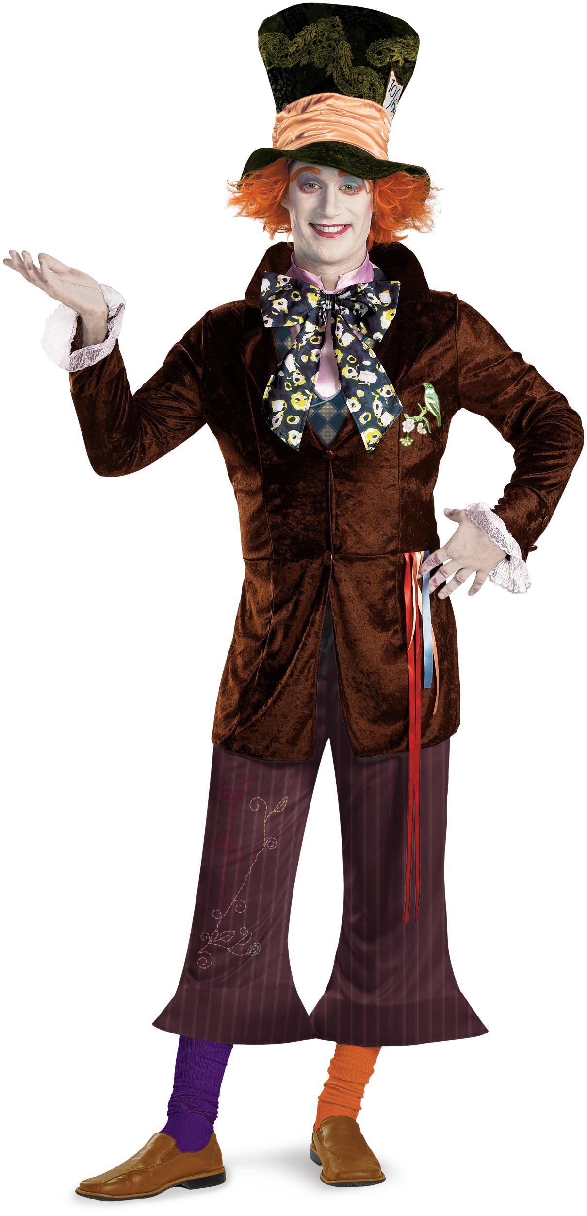 alice in wonderland movie prestige mad hatter adult costume buycostumescom - Mad Hatter Halloween Costume For Kids