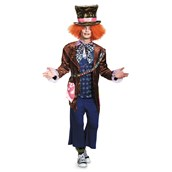 Alice in Wonderland: Through the Looking Glass Deluxe Mad Hatter Adult Costume