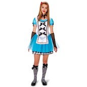 Alice Tween with Knee Highs, Glovelettes & Hair Clip Costume