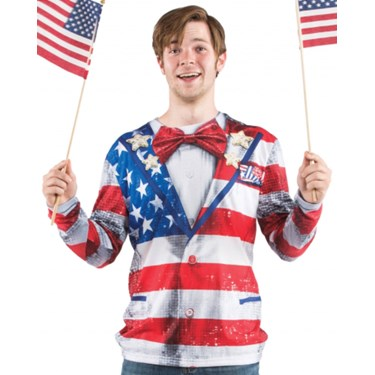 American Tux Adult T-Shirt
