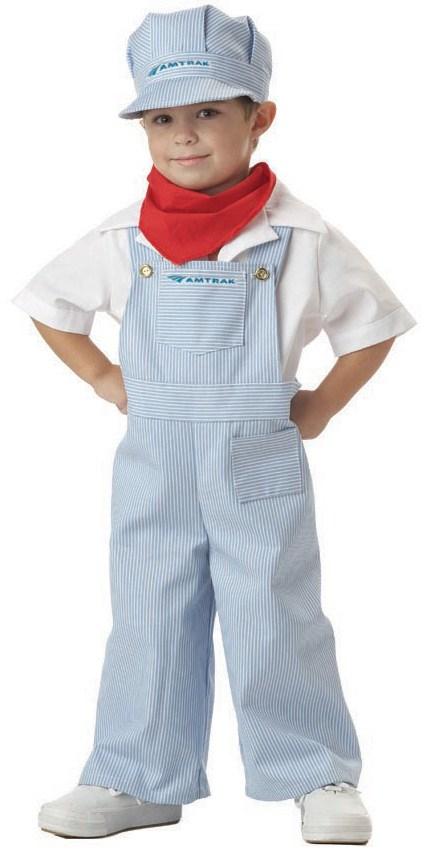 Amtrak Train Engineer Toddler Costume | BuyCostumes.com