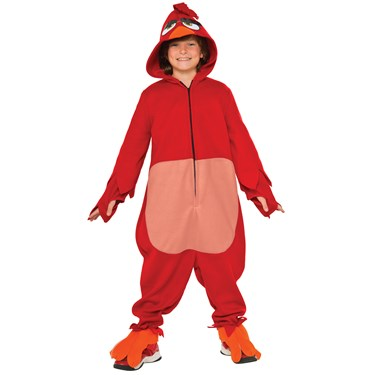 Angry Birds Movie: Red Bird Child Costume