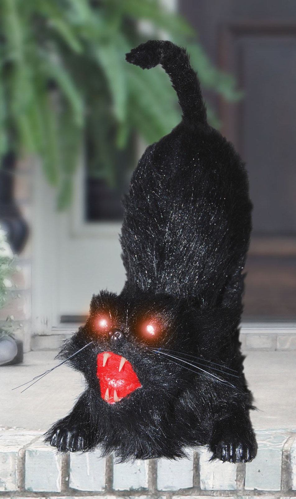 Animated Cat With Light Up Eyes Buycostumes Com