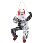 Animated Clown on Swing