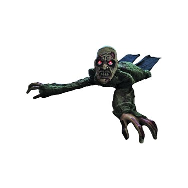 Animated Crawling Zombie with Lights & Sound