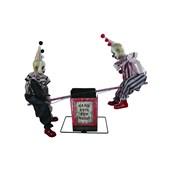 Animated See-Saw Clowns with Sound