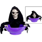 Animated Snapping Reaper Candy Bowl 9""