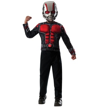 Ant-Man Deluxe Muscle Chest Shirt Box Set Child One Size