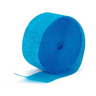 Aqua Blue (Turquoise) Crepe Streamer - 81'