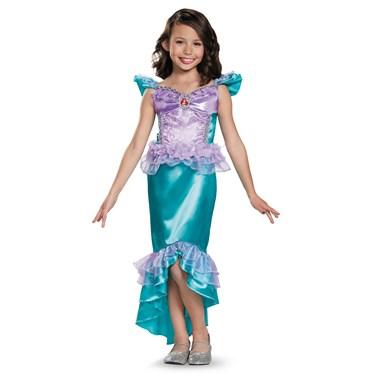 Ariel Girls Classic Costume