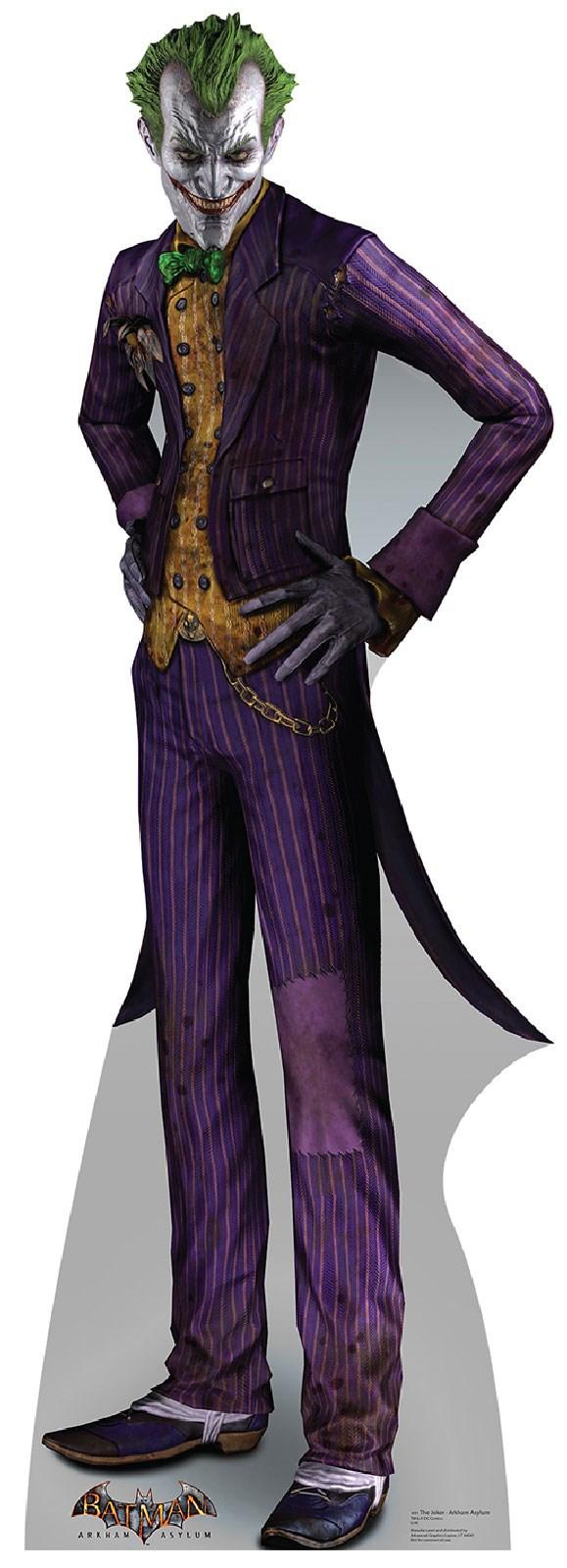 Arkham Asylum - The Joker Cardboard Stand Up 6