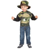 Army Combat Muscle Chest Shirt Set