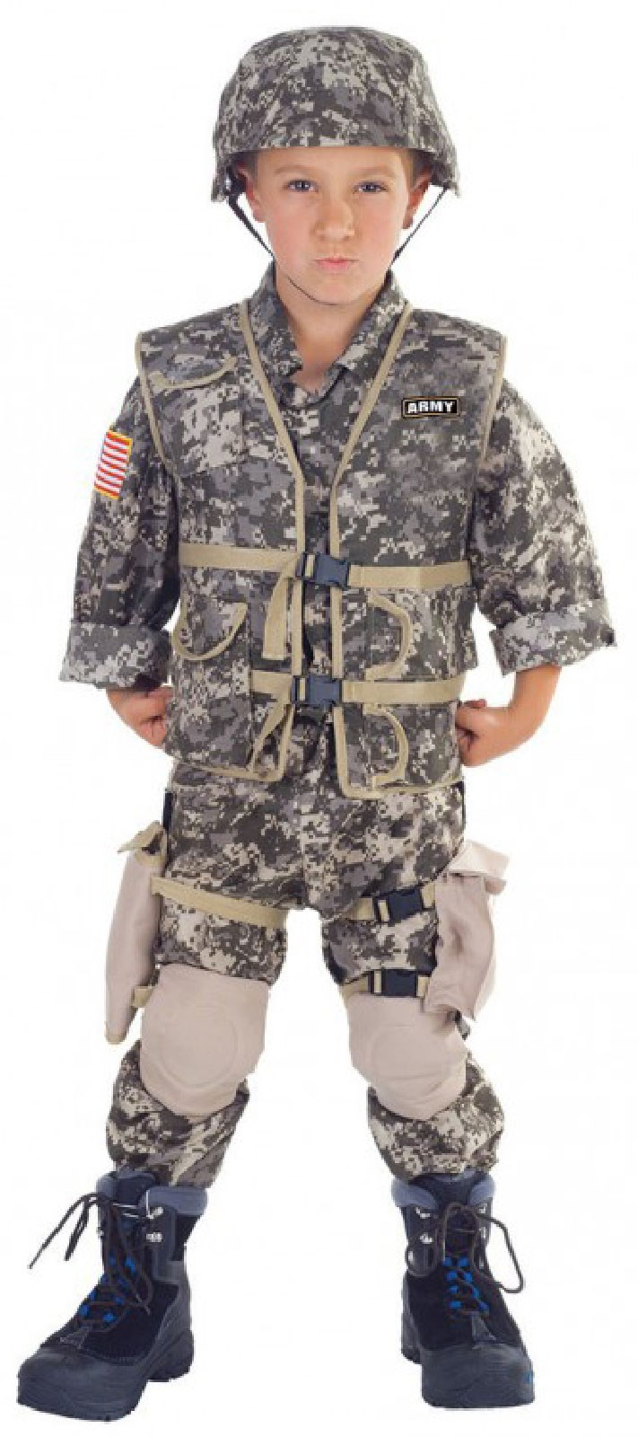 Army Ranger Deluxe Child Costume | BuyCostumes.com