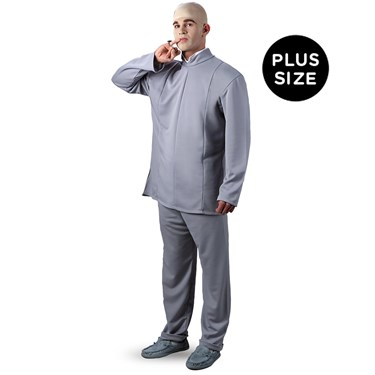Austin Powers Dr. Evil Deluxe Plus Adult Costume