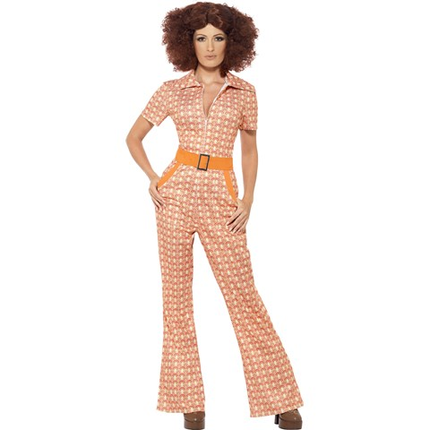 Authentic 70's Chic Costume For Women