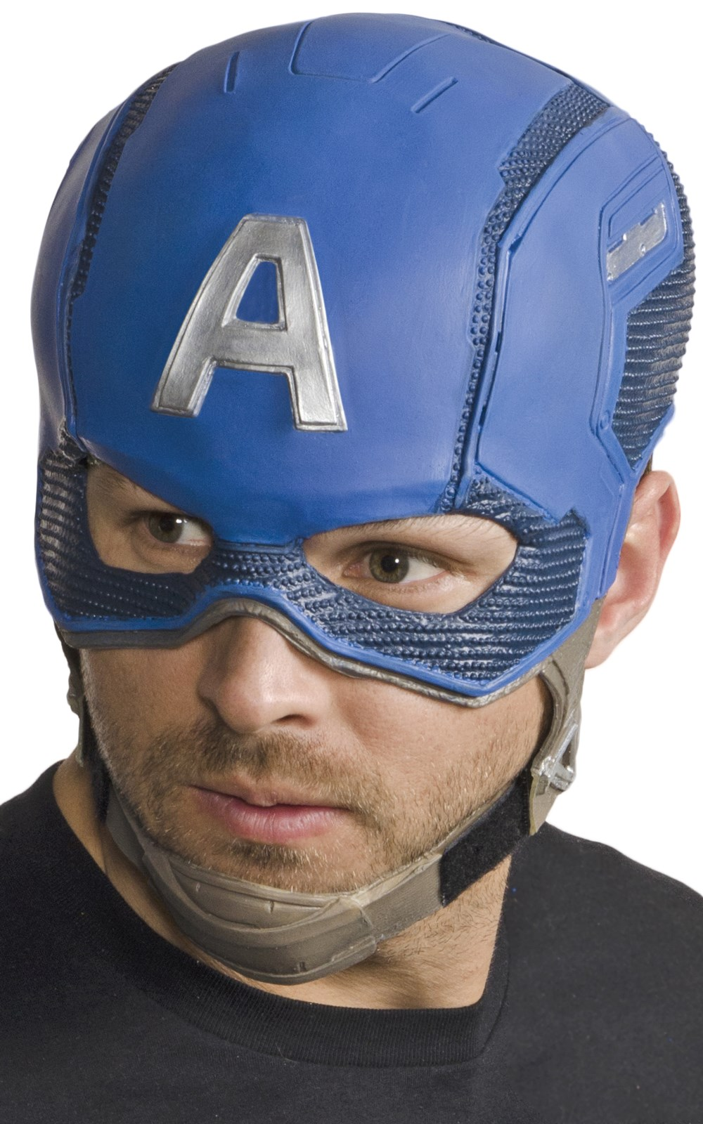 Avengers 2  Age of Ultron Adult Captain America Molded Mask
