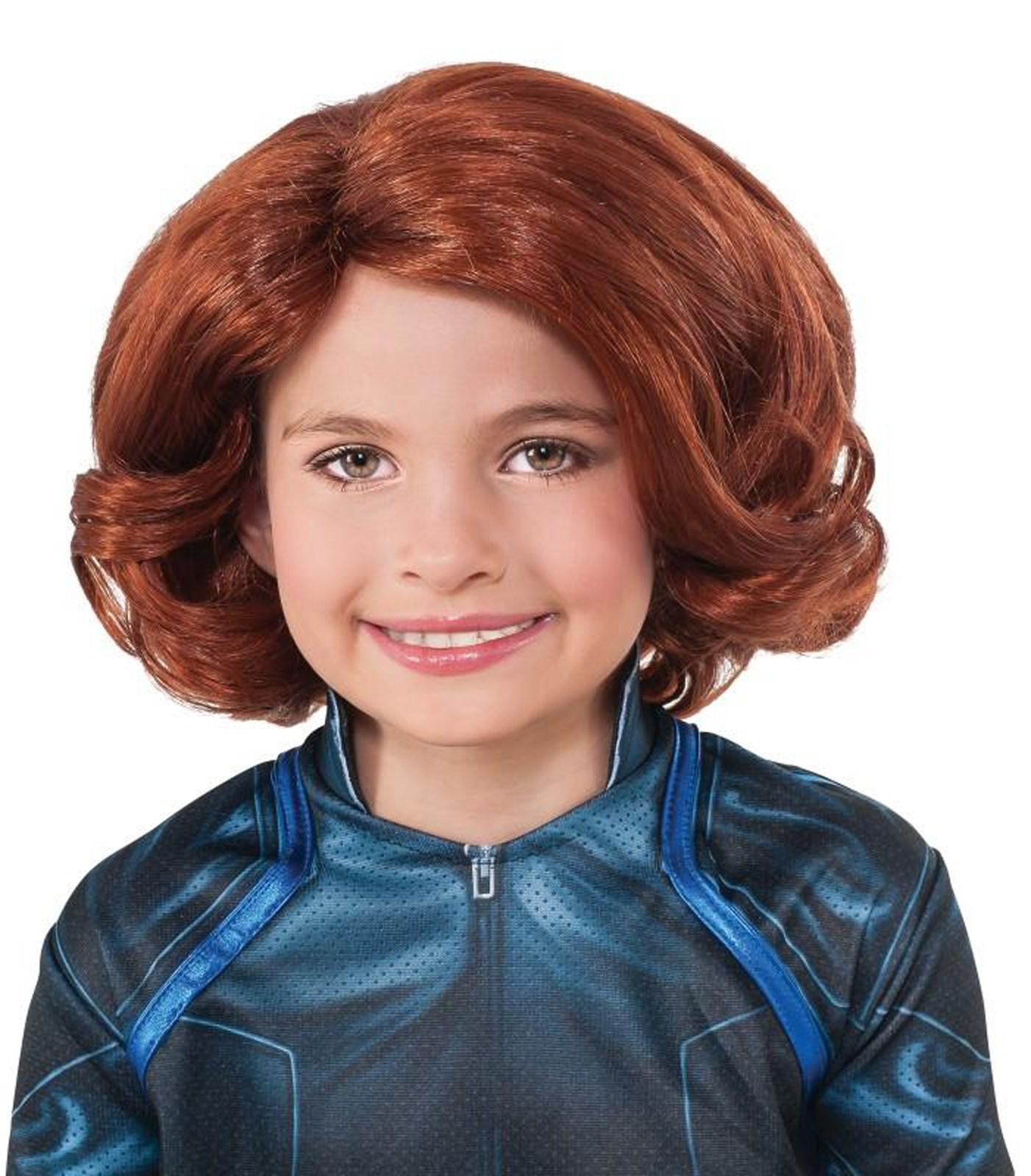 Avengers 2 - Age of Ultron: Black Widow Kids Wig