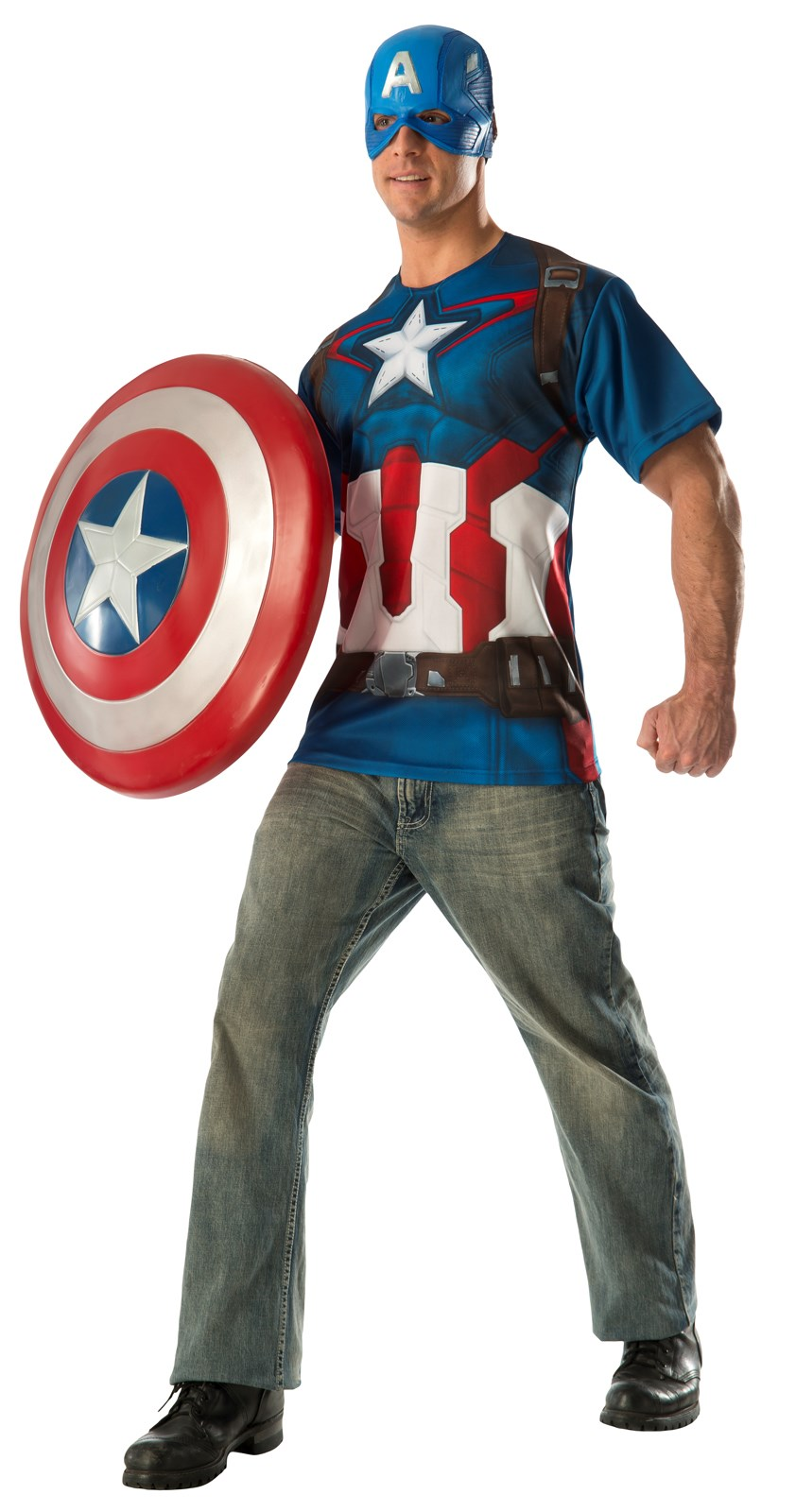 avengers 2 age of ultron captain america adult t shirt