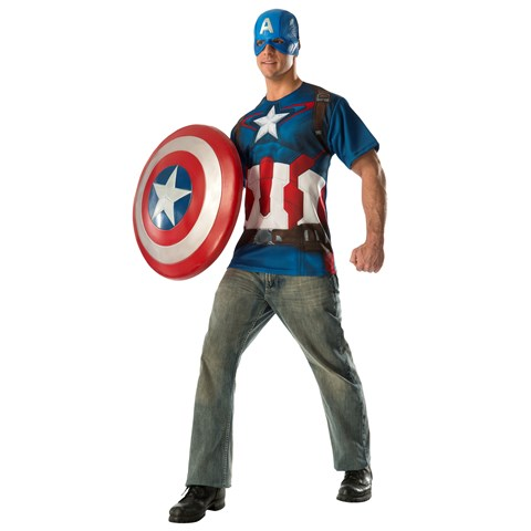 Avengers 2 - Age of Ultron: Captain America Adult T-Shirt