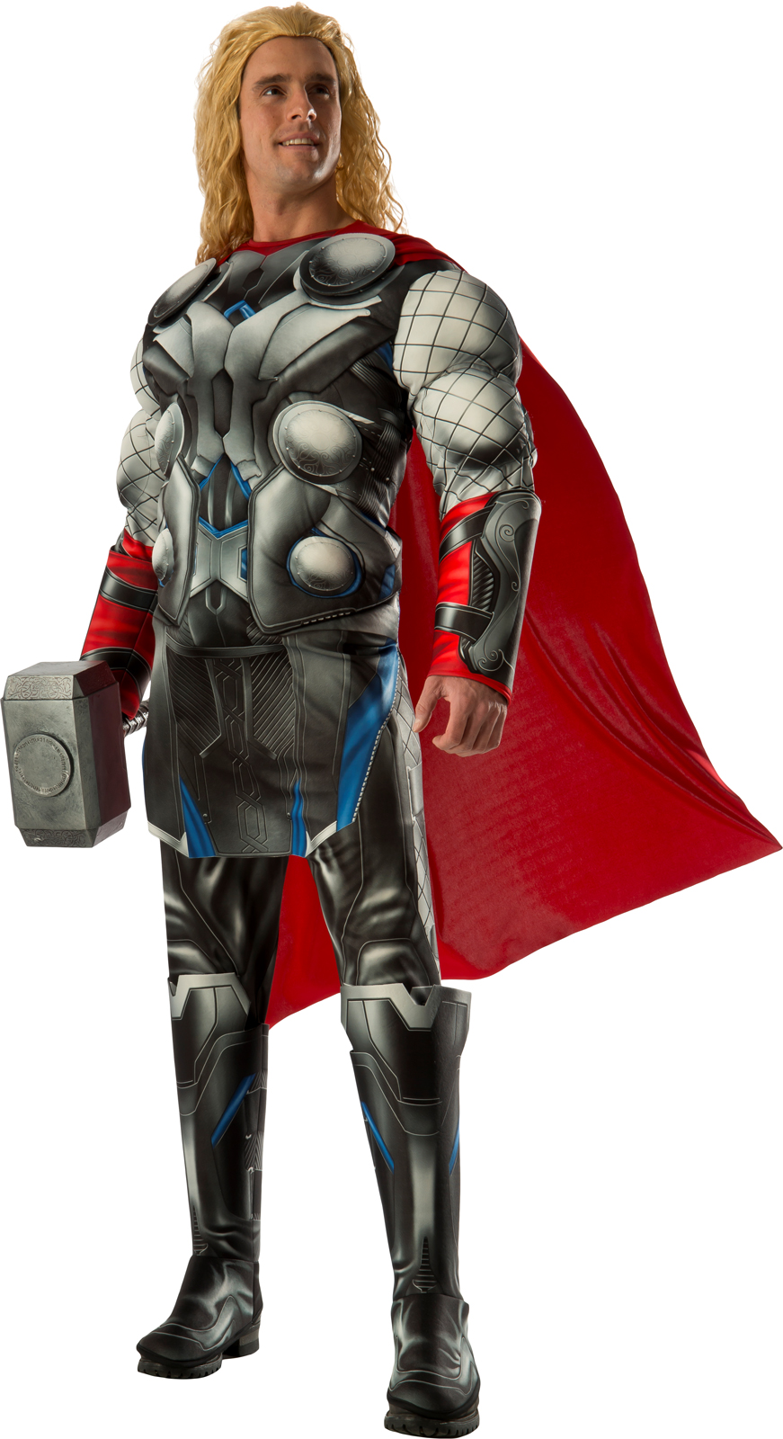Avengers 2 - Age of Ultron: Deluxe Adult Thor Costume ...
