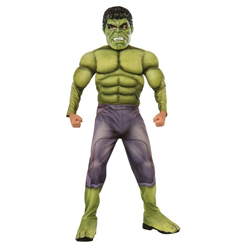 Avengers 2 - Age of Ultron: Deluxe Hulk Kids Costume